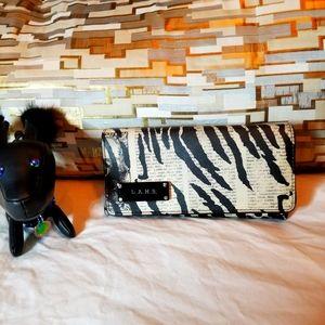 L.A.M.B. By Gwen Stefani zebra Wallet.